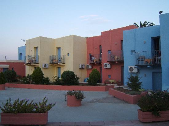 Skaleta, Hellas: chambres de l'hôtel