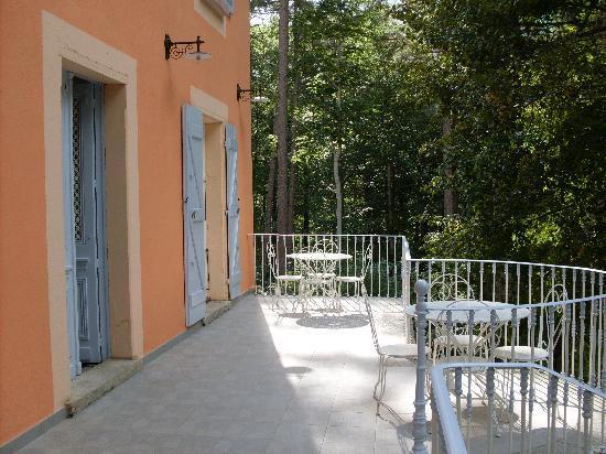 Hotel U Castellu : Terrasse