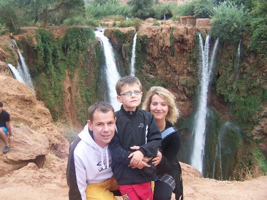 Mogador Express Gueliz : cascades d'ouzoud