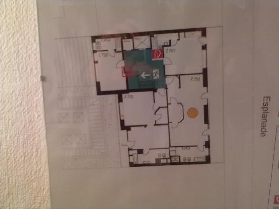 Hotel Alster-Hof : Etagenplan