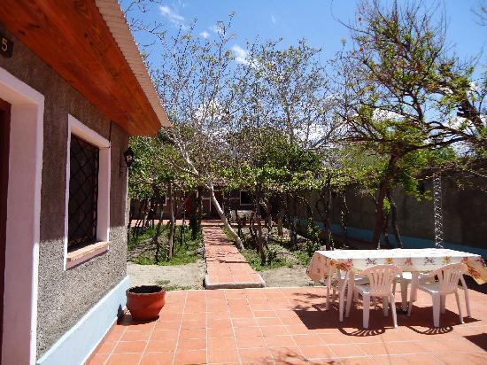 El Portal de las Vinas : patio