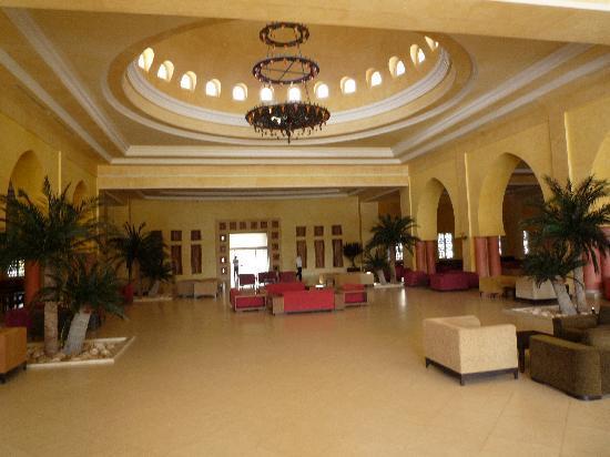 Zita Beach Resort: La réception