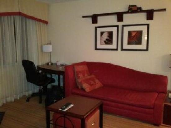 Residence Inn Boston - Tewksbury: Living Room