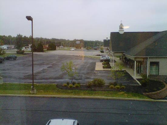 Hampton Inn Richfield : View from my room