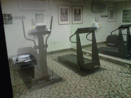Hampton Inn Richfield: Exercise area