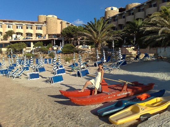 Grand Hotel Smeraldo Beach: Strand