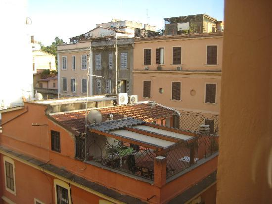 Hotel Novecento : View from our window