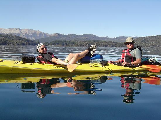 San Carlos de Bariloche, Argentina: Kayaking trips in Bariloche with Pura Vida Patagonia