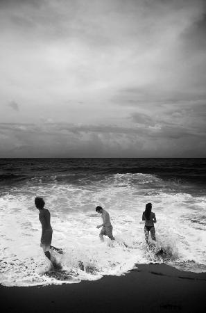 Tesoro Escondido: La plage El bluff