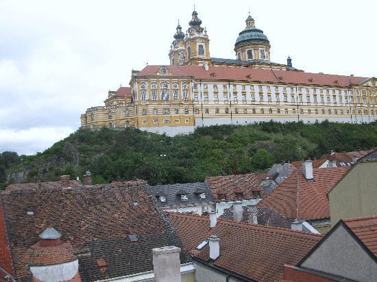 Hotel Restaurant zur Post: View from skylight
