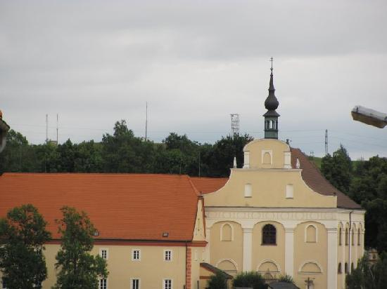 Carmelite Monastery : view from the centre