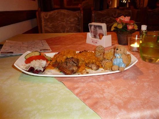 Restaurant Schönbrunner Stöckl: Lamb with Pumpkin Ragout