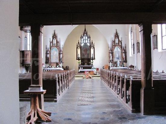 Kostel Svateho Stepana (St. Stephan Church): interior