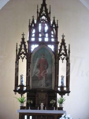 Kostel Svateho Stepana (St. Stephan Church): main altar