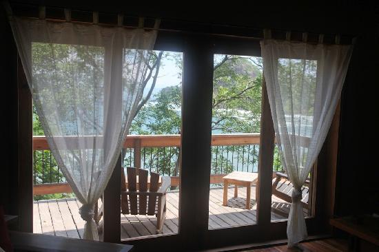 Aqua Wellness Resort: Redonda Bay from a villa - Green Season