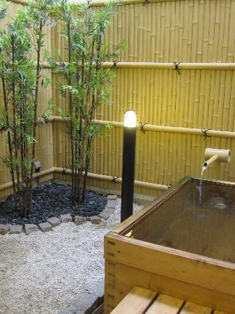 Oyado Yamakyu: Outdoor Cypress Bath
