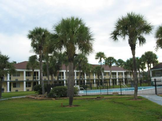 Quality Inn Airport: Pool & Grounds