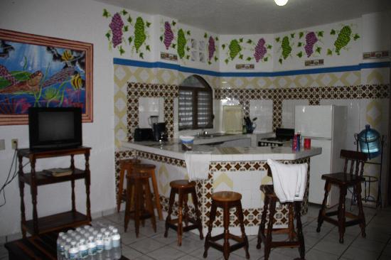 Bungalows Laguna Del Tule: Wohnbereich/Küche