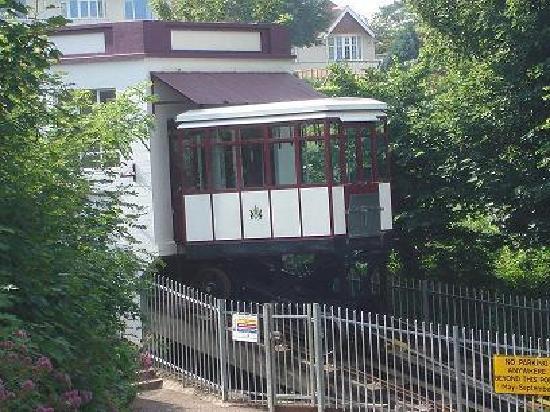 Exmouth View Hotel : Funnicular Railway to Oddicombe Beach