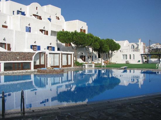 Pool at Santorini Palace