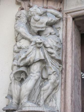 Alte Bischöfliche Residenz: detail