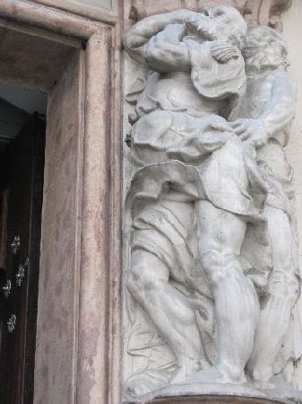 Alte Bischöfliche Residenz: detail 2