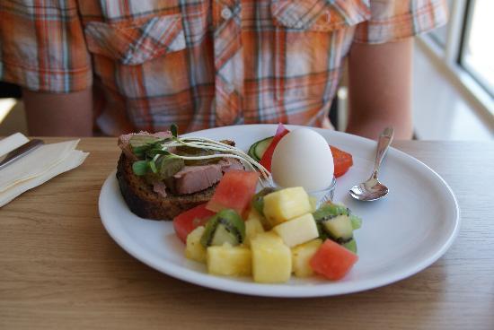 StayAt Lund: Excellent breakfast.