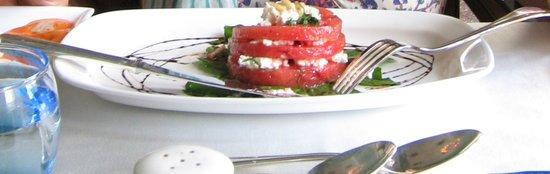 Samode Palace Restaurant : Watermelon Feta Salad