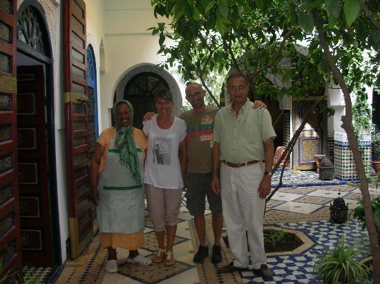 Ryad El Borj: Daniel, noi viaggiatori e la cuoca