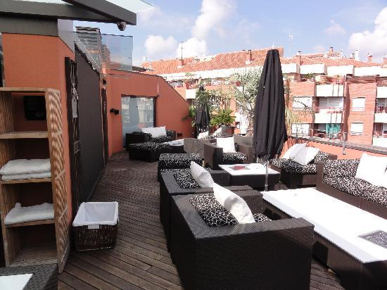 Hotel Villa Emilia: Roof terrace