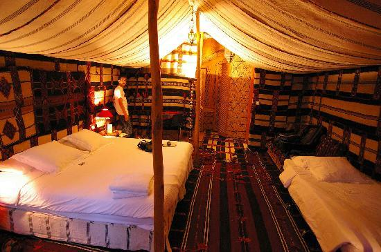 Mansouriya Palace Hotel: Bedouin room, view 1