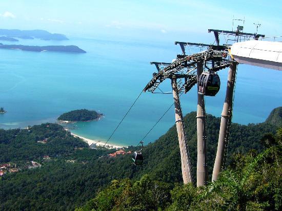 Langkawi, Malaysia: Top of Cable Car