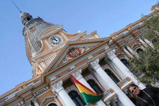 La Paz, Bolivia: Plaza View