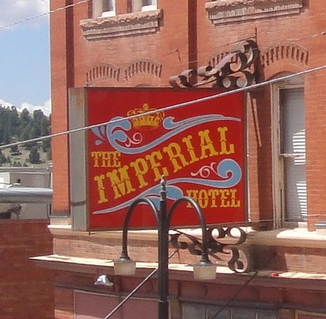 Imperial Hotel and Restaurant: A sign to remember