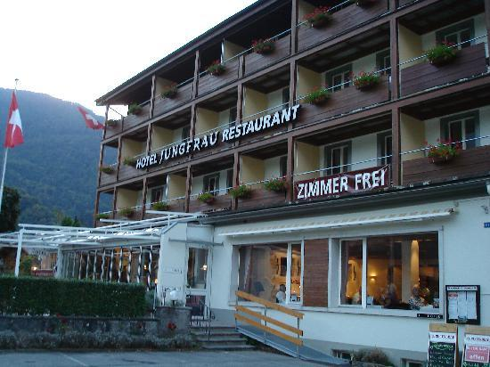 Jungfrau Hotel : Front of Hotel