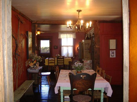 Helvetia Hutte Restaurant: Inside