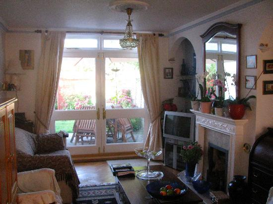 No 10 B and B: The delightful living room