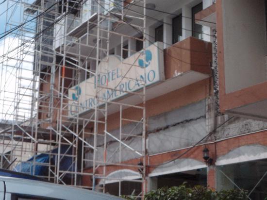 Hotel Centroamericano: dumpster