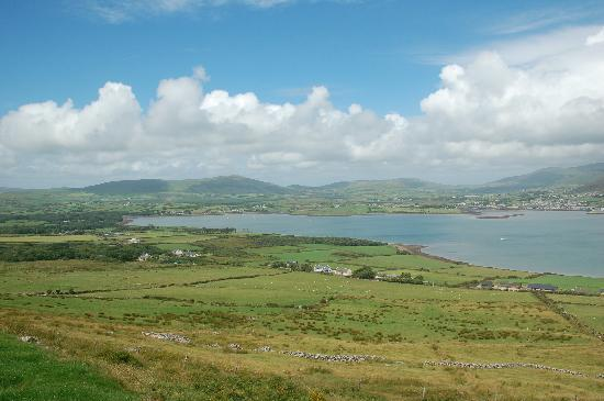 Dingle, Irland: View from Eask Tower