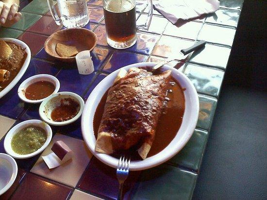 Sal's Tacos and Mexican Restaurant: The Mega Wet Burrito