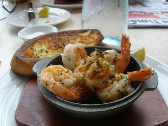 La Tentation Restaurant: Coconut prawns at La Tentation