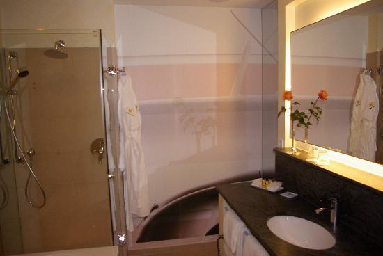 Hotel Adler Asperg: bathrom