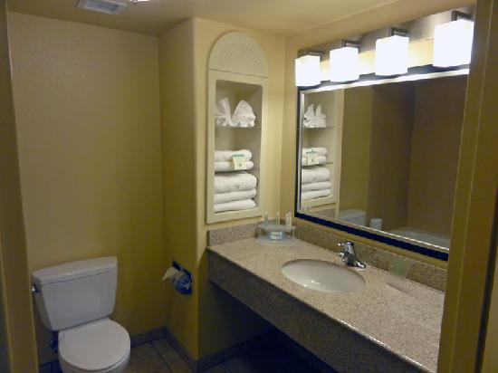Holiday Inn Express Dinuba West : Bathroom
