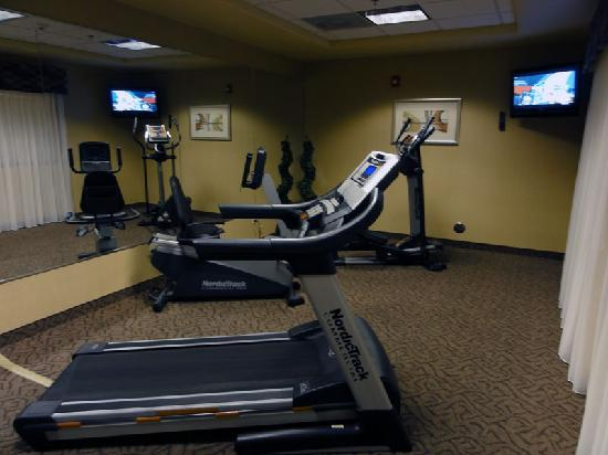 Holiday Inn Express Dinuba West : Gym