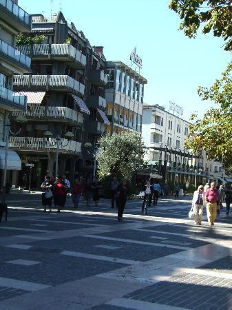 Hotel Aurora Terme: via pietro d'abano