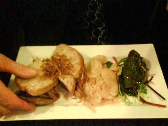 Blue Crush Bar & Diner: Classic steak and onion sandwich
