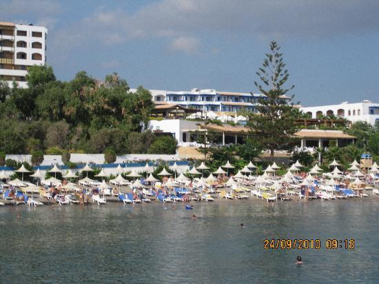 Aldemar Paradise Village : The beach