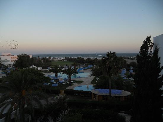 Vime Club Venus: Blick vom Balkon