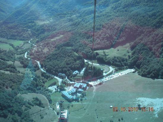 Parador de Fuente De : vista desde el teleferico