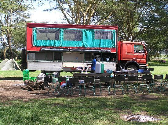 Indaba East Africa Campsite: Truck